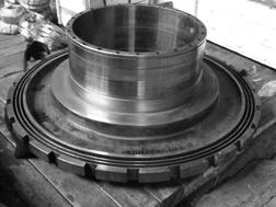 Характерные детали с покрытиями со структурой МСА (опора станка (поверхности скольжения))