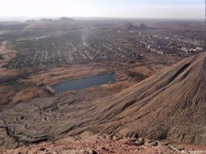 Вид с вершины террикона