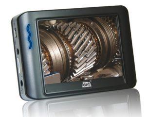 Изображение на экране видеоэндоскопа