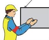 Осторожно (применяется перед подачей какого-либо из перечисленных выше сигналов при необходимости незначительного перемещения)
