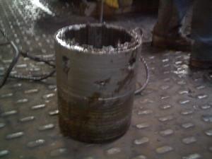 Проворот шлицевой втулки червячного колеса нажимного устройства клети «Кварто»