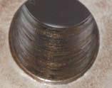 Состояние посадочных поверхностей зубчатого колеса и вала (неподвижная посадка)