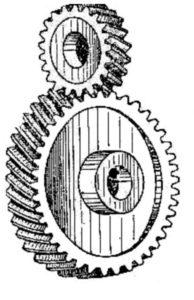 Рисунок 11 – Передачи между скрещивающимися валами