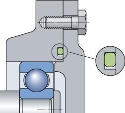 Рисунок 12 – Уплотнения неподвижных соединений