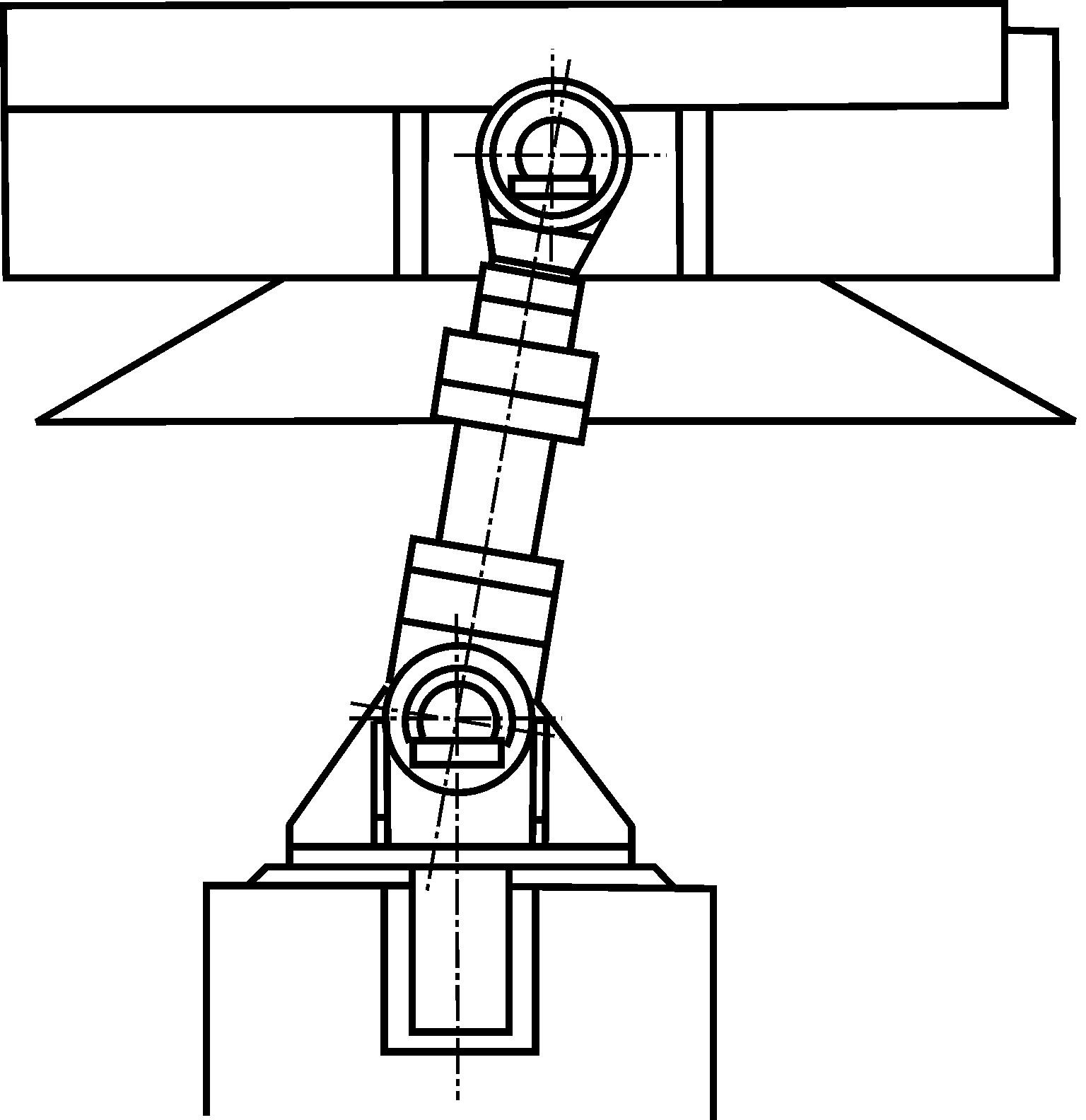 Рисунок 2 – Гидроцилиндр вертикального подъема