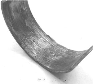 Вид поверхности при износе схватыванием второго рода