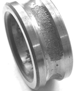 Местное выкрашивание внутреннего кольца при вращающейся радиальной силе и неподвижном наружном кольце