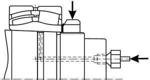 Подача масла на сопрягаемые поверхности