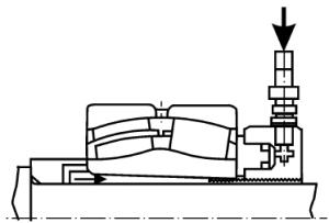 Подвод масла и использование гидравлической гайки
