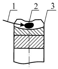 Начальное пятно в типовых конструкциях редукторов 2Ч-40, 2Ч-63, 2Ч-80