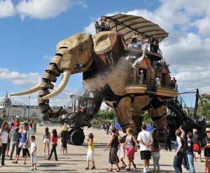 Удивительная техника: Фантастические механические машины города Нант