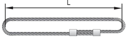 Универсальный строп канатный кольцевой