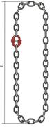 Универсальный строп цепной кольцевой