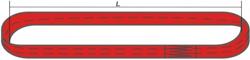 Строп текстильный кольцевой (ленточный)