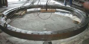 Трёхрядное роликоподшипниковое поворотное кольцо (внешний вид)