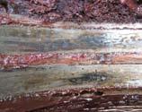 Различная структура смазочного материала приводной и холостой стороны корпуса подшипника 4