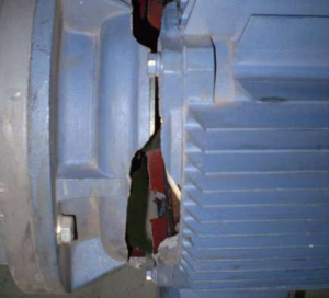 Разрушение корпусов (двигателя)