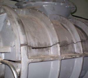 Разрушение корпусов (бустерного насоса)
