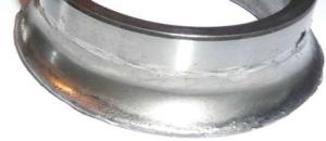 Износ беговой дорожки внутреннего кольца шарикового радиально-упорного подшипника