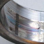 Цвета побежалости на посадочной поверхности внутреннего кольца подшипника при схватывании и провороте