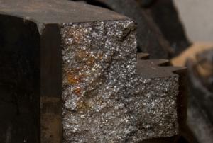 Пример фотографии при осмотре разрушенной зубчатой полумуфты (детальной)